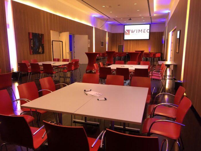 Dali wimec events eventverhuur AV vergaderen meeten hybrid personeelsfeest receptie vergaderen vergaderruimte turnhout Beerse Geel Tilburg breda roermond maastricht 10
