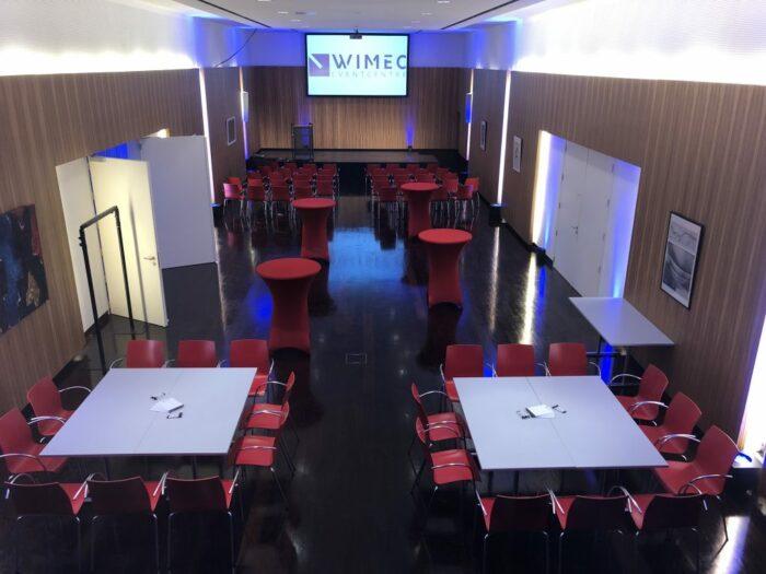 Dali wimec events eventverhuur AV vergaderen meeten hybrid personeelsfeest receptie vergaderen vergaderruimte turnhout Beerse Geel Tilburg breda roermond maastricht 9